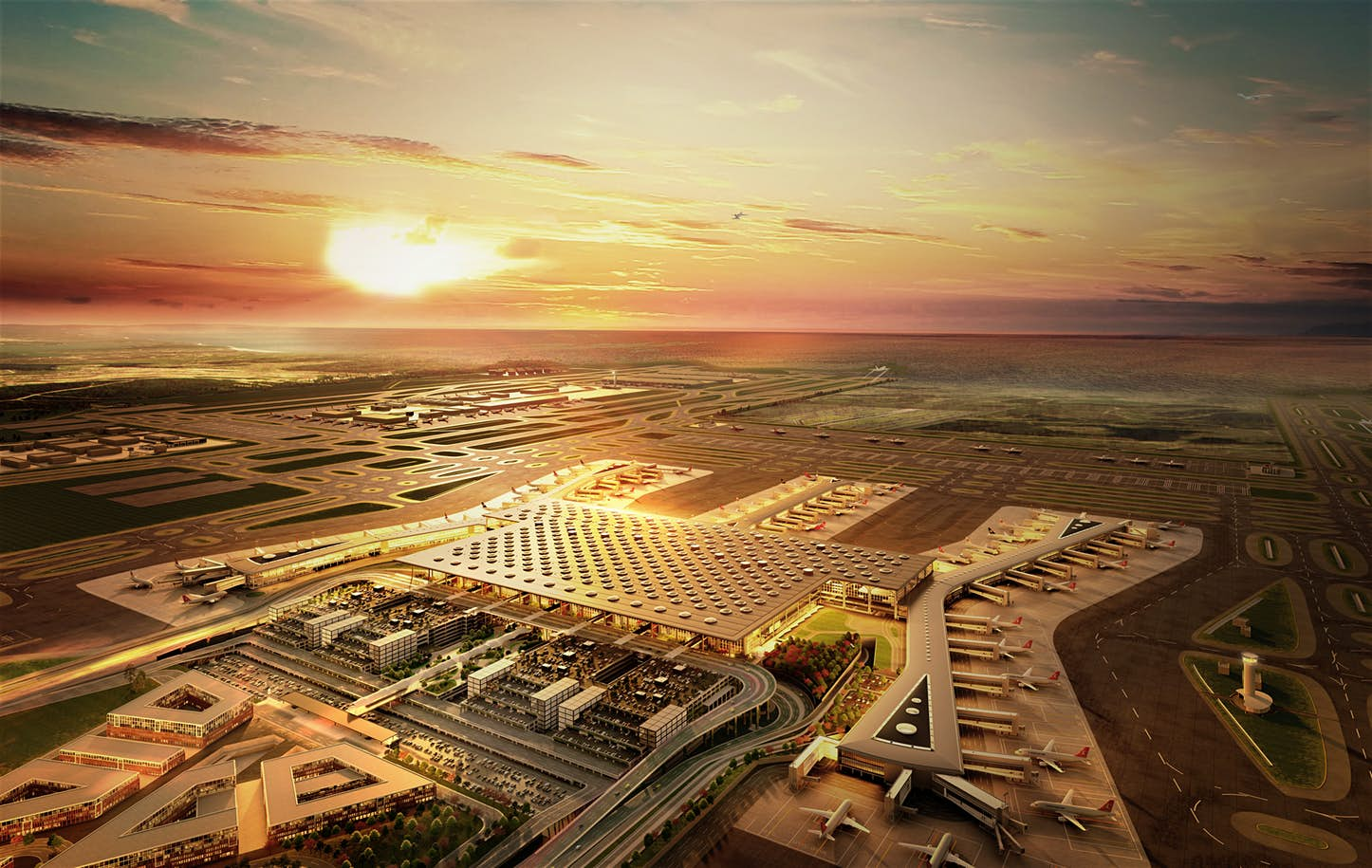 What it's like to travel through the incredible new airport in Istanbul